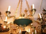 Pair of French Empire style chandeliers
