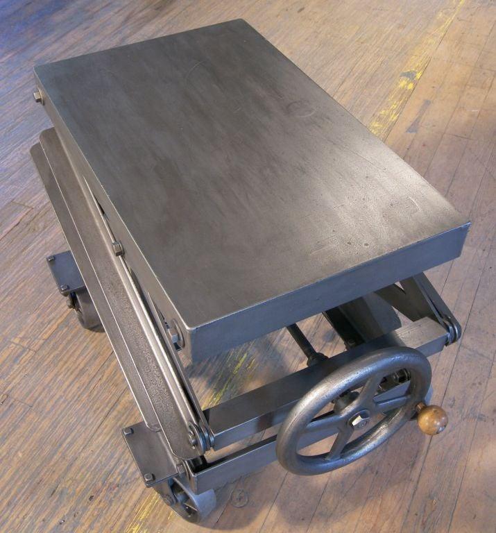 Industrial Scissor Lift Table 28 Images Industrial Adjustable Scissor Lift Table At 1stdibs