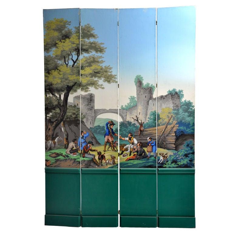 zuber wallpaper screen at 1stdibs