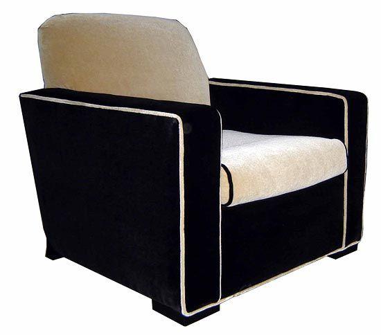 Donald Deskey Club Chair At 1stdibs