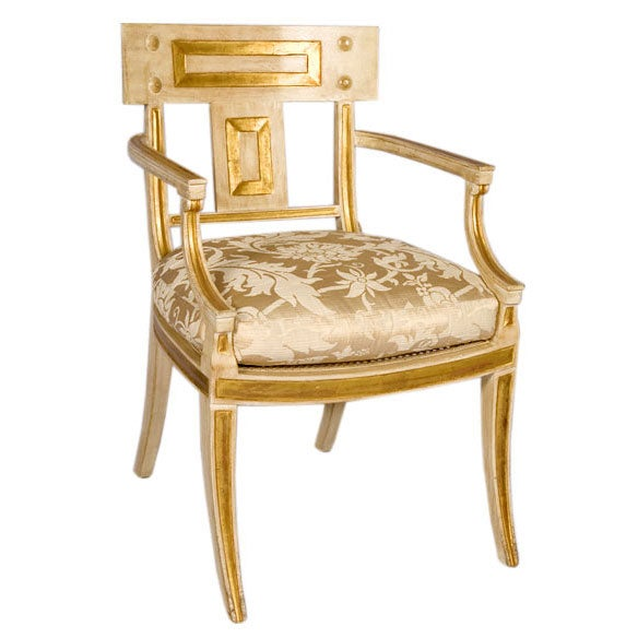 Michael Taylor White Chair At 1stdibs