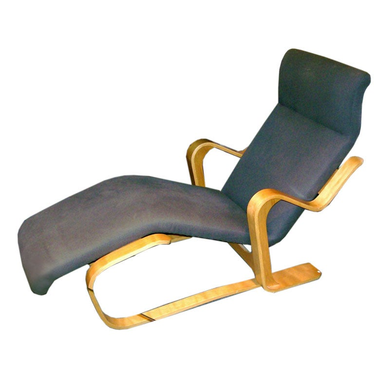 marcel breuer chaise at 1stdibs. Black Bedroom Furniture Sets. Home Design Ideas
