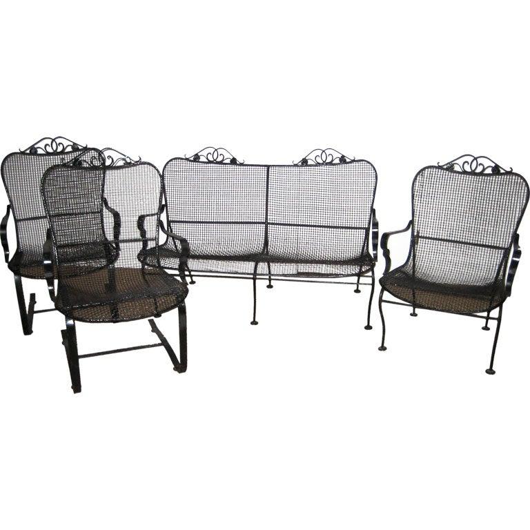 Set of Woodard Outdoor Furniture at 1stdibs