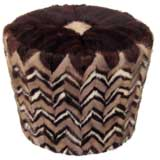 114 Collection Mink Ottoman
