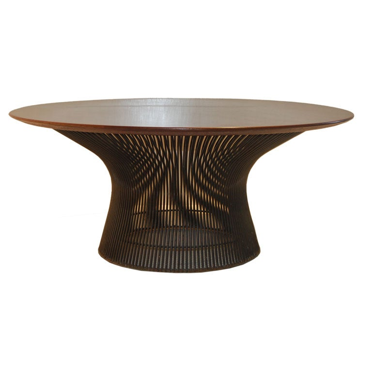 this warren platner rosewood coffee table is no longer available