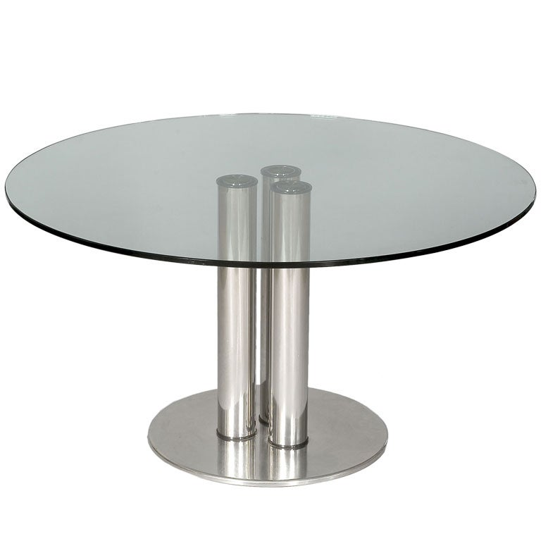 Dining table by marco zanuso for zanotta 1972 italy at for Table zanotta
