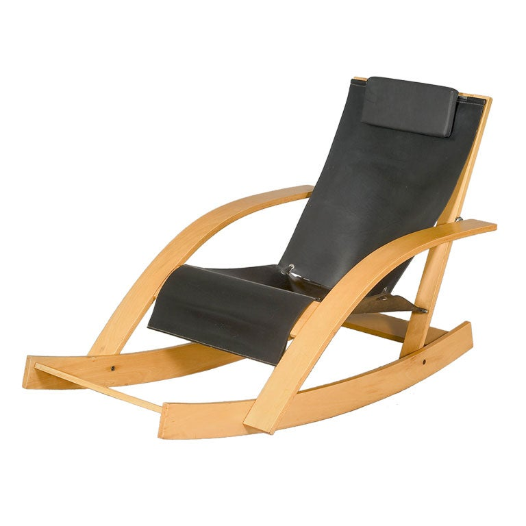 Rocking Chair by Werther Toffoloni, Italy