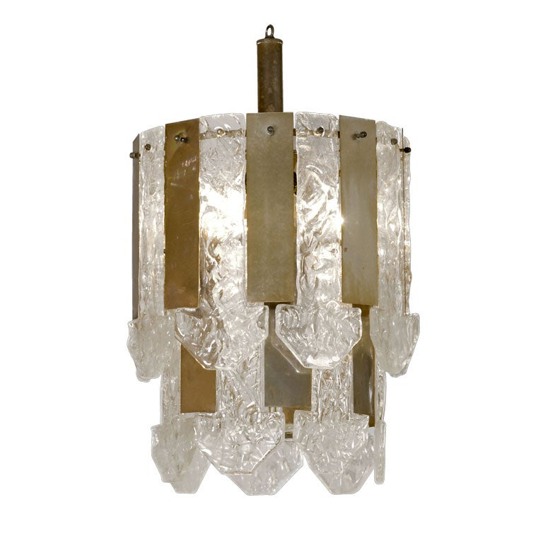 Unusual Hanging Lamp Attributed To Barovier And Tosa