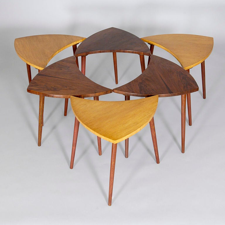 Six part `Pinwheel` Coffee Table by CIMO 3