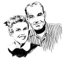Charles Eames and Ray Eames (USA, 1907–78; 1912—88)
