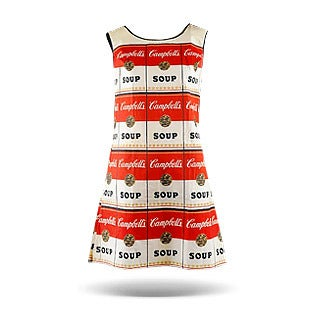 Andy Warhol, The Souper Dress, 1965
