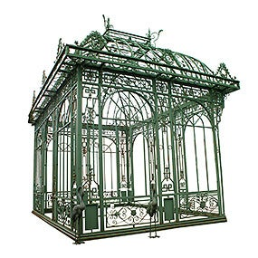 Cast Iron Pavillon, ca. 1990