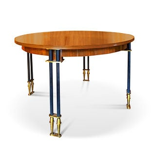 Jules Leleu Extendable Dining Table, 1950s