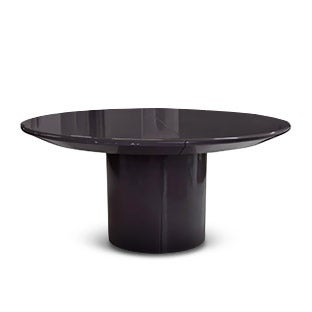 Karl Springer Knife Edge Dining Table, 1980