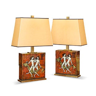 Paul Laszlo and Karin Van Leyden Table Lamps, ca. 1952