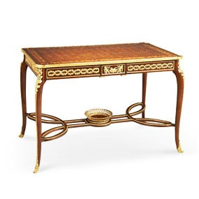 Marquetry Center Table