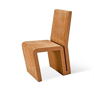 Frank Gehry Side Chair in Cardboard, ca. 1980