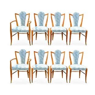 Adolfo Genovese Dining Chairs, 1950s