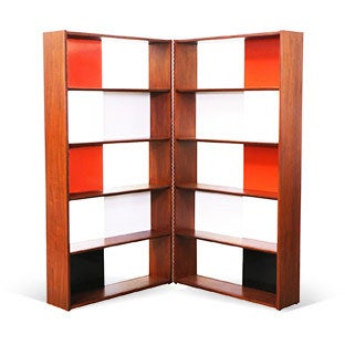Evans Clark Room Divider or Bookshelf, 1950s