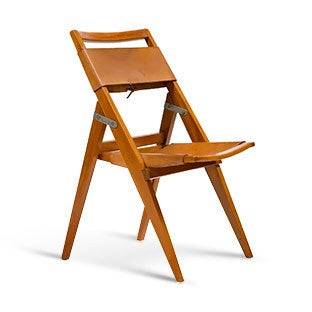 Lina Bo Bardi Folding Chair, 1950s