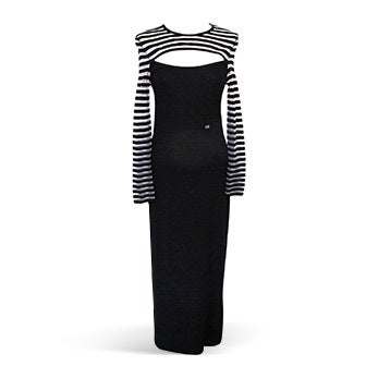 Sonia Rykiel French Sailor Evening Gown, 21st Century