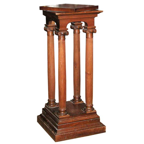 Napoleon Iii Rotating Sculpture Pedestal At 1stdibs