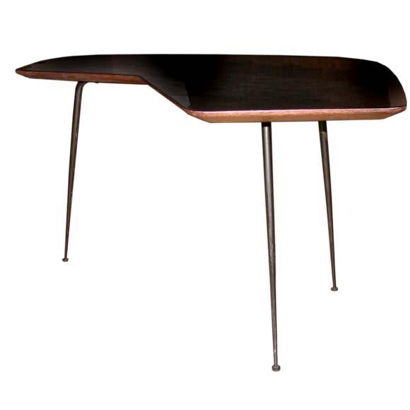 Small Boomerang Coffee Table At 1stdibs