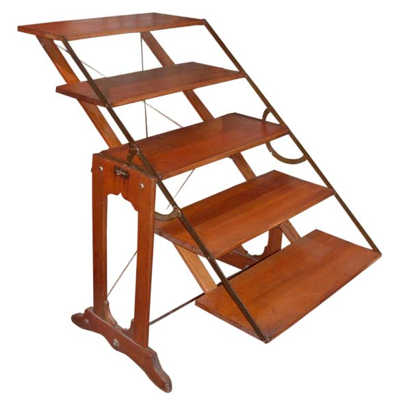 Convertible Display Shelf Table At 1stdibs