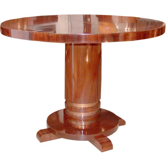 Palissandre Gueridon Table at 1stdibs -> Table Tele Palissandre