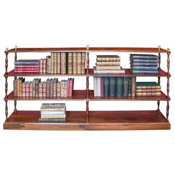 Palissandre Book Case at 1stdibs