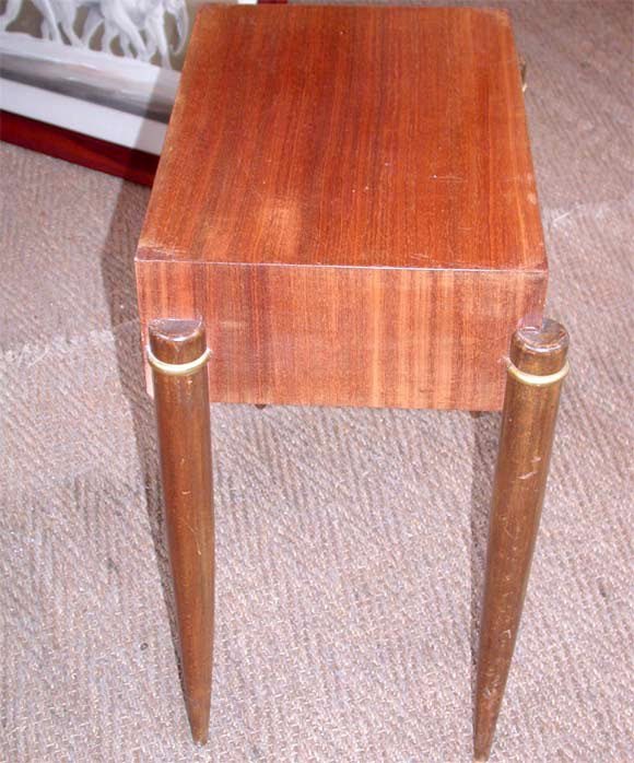 Pair of Palissandre End Tables at 1stdi -> Table Tele Palissandre