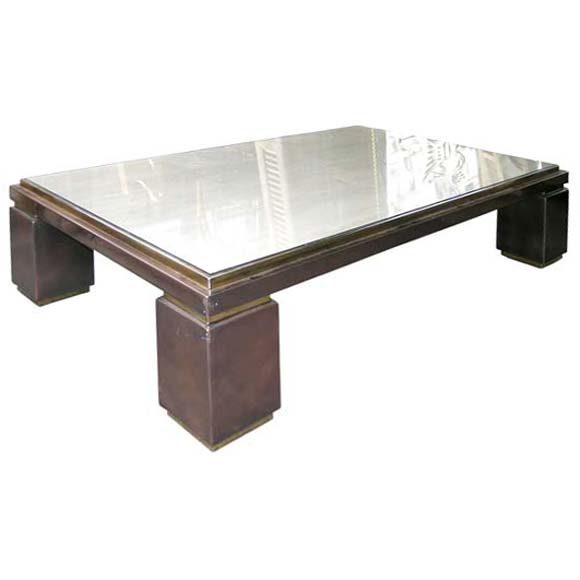 70 39 s rectangular coffee table at 1stdibs for Coffee tables 70s