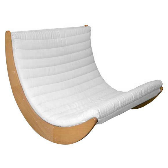 crescent relaxer 2 rocking chair by verner panton at 1stdibs