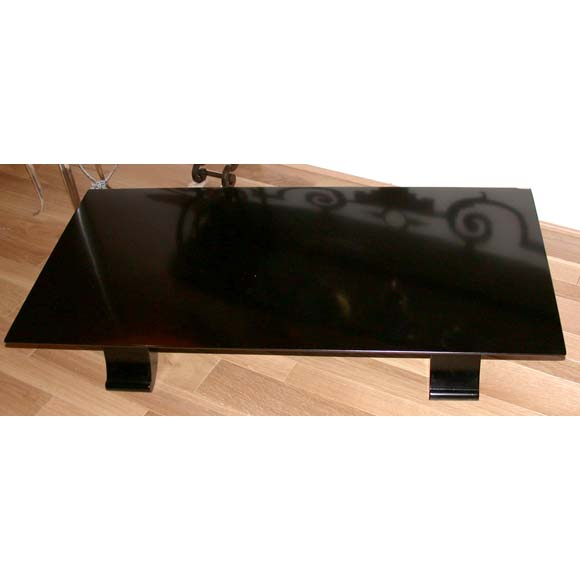 Low Japanese Style Art Deco Coffee Table At 1stdibs