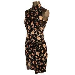 Chanel floral print day dress