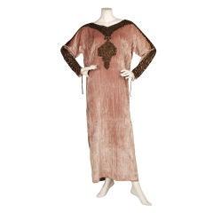 Babani 1920s Silk Velvet Caftan