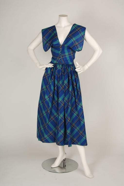 Vestido de cuadros 3 - 5 4