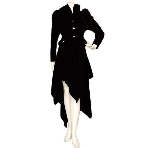 Vivienne Westwood Red Label Victorian-Style Velveteen Suit  1