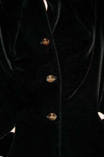 Vivienne Westwood Red Label Victorian-Style Velveteen Suit  7