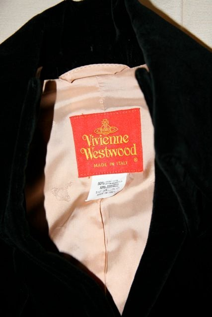 Vivienne Westwood Red Label Victorian-Style Velveteen Suit  8