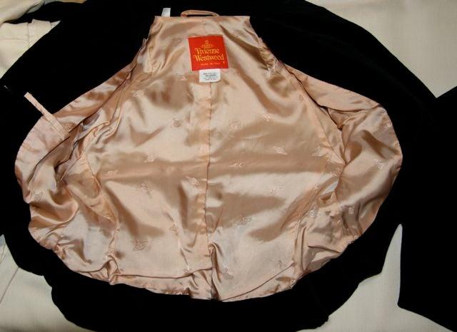 Vivienne Westwood Red Label Victorian-Style Velveteen Suit  9