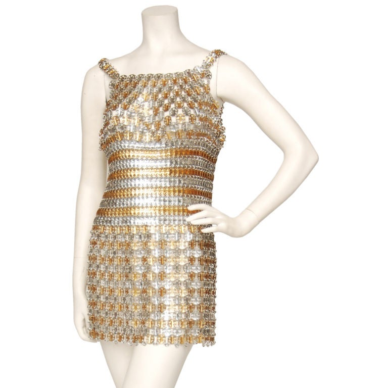 Paco Rabanne Dress At 1stdibs