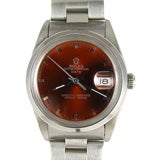 "Rolex Stainless Steel Oyster Perpetual Date ""Cherry Cola"" Dial"