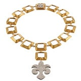 PARETI ROMANE GOLD + DIAMOND NECKLACE