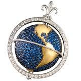Capvt Mvndi Sapphire Globe