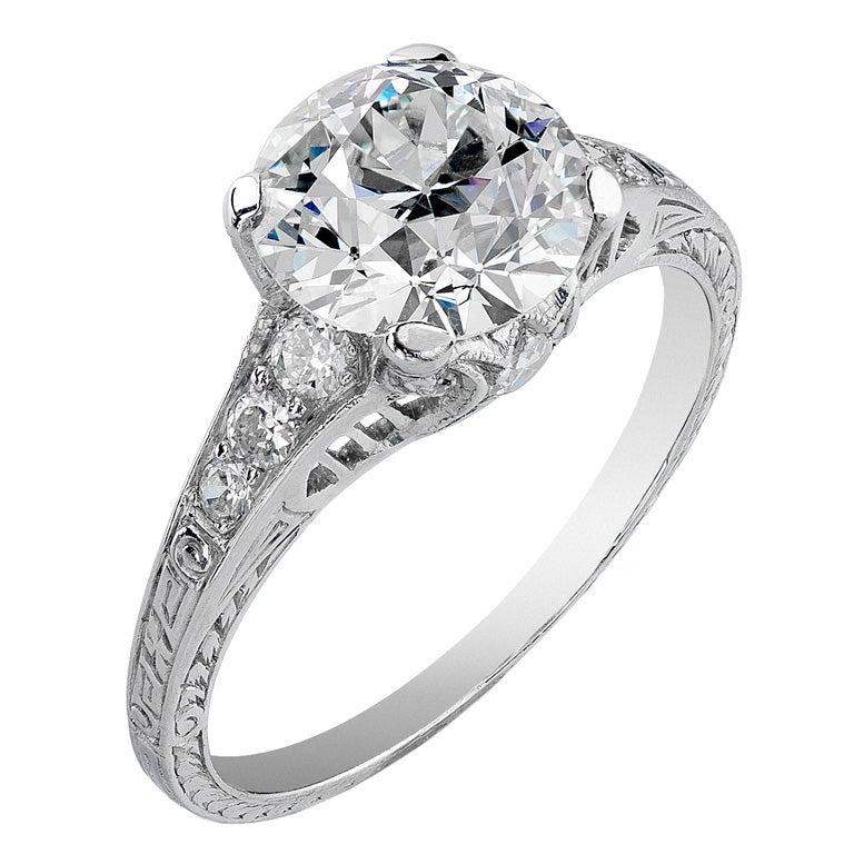 art deco wedding rings