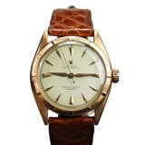 Rolex Oyster Perpetual Chronometer in 18K Rose Gold