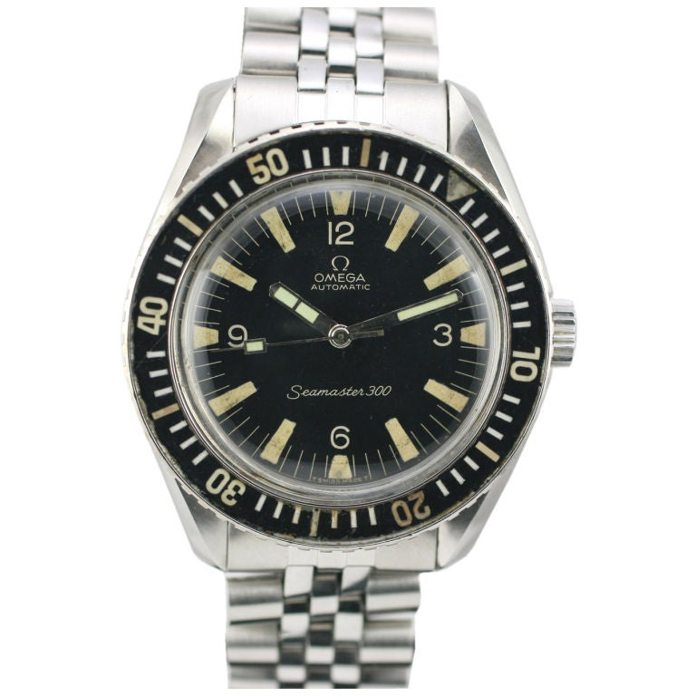 Collectible omega seamaster 300 dive watch 1960s at 1stdibs - Omega dive watch ...