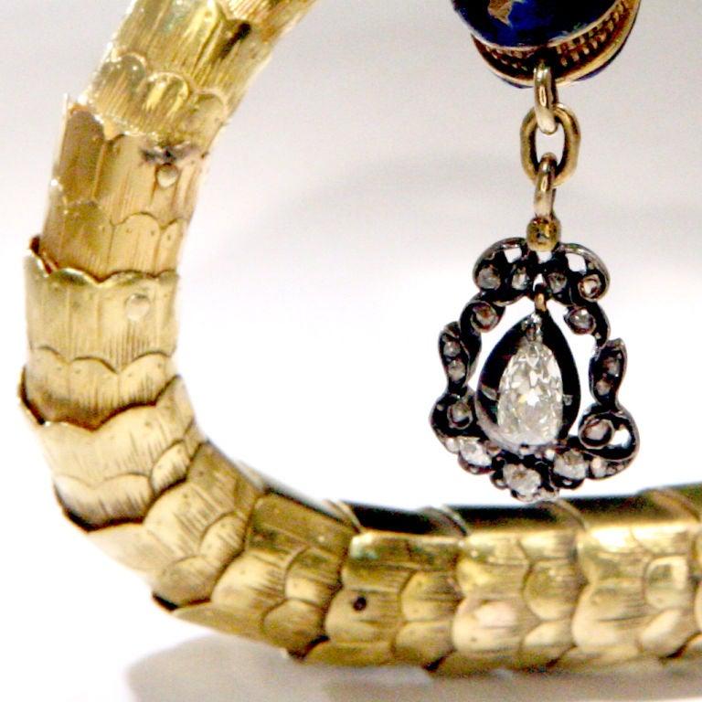Victorian Gold Snake Bracelet at 1stdibs