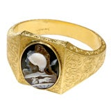 Victorian Gold Cameo Bracelet